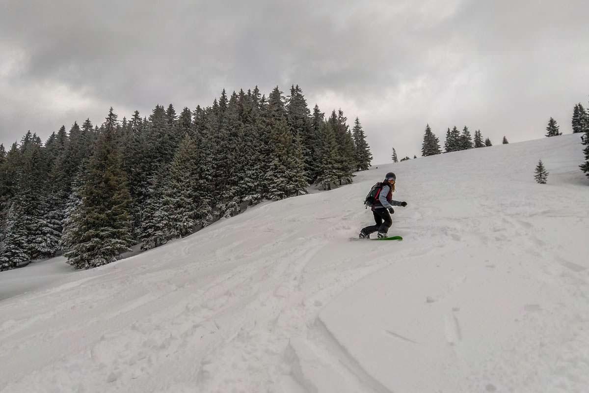 Snowboardtour im Allgäu