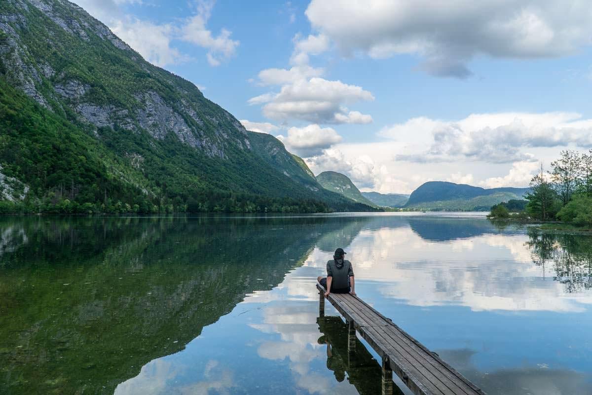Wanderungen um den Bohinj See im Nationalpark Triglav
