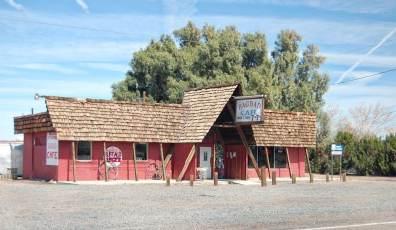 Le fameux Bagdad Cafe sur la Route 66