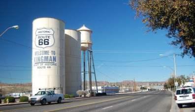 Kingman sur la Route 66