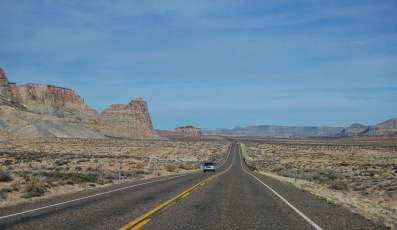 Une route en Utah