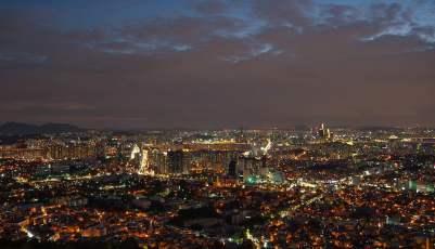 Vue sur Seoul (Yongsan-gu)