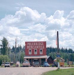 Polebridge Mercantile  Cabins in Polebridge Montana