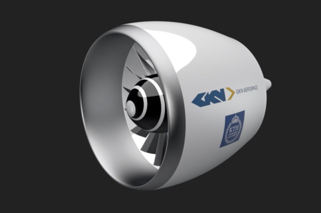 GKN Aerospace and KTH (the Swedish Royal Institute of Technology) are jointly developing fan technology for small regional electric aircraft. Click to enlarge.