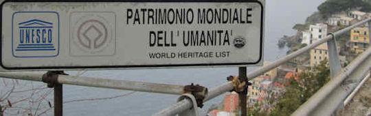 UNESCO World Heritage List: Riomagiorre - Cinque Terre, Italy.