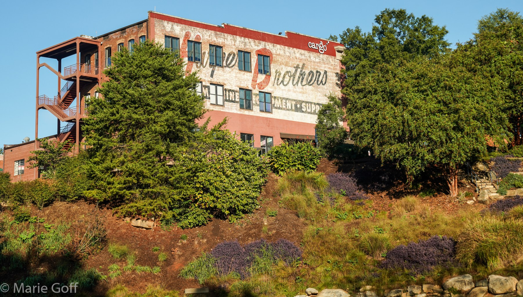 Ghost Sign in Greenville South Carolina