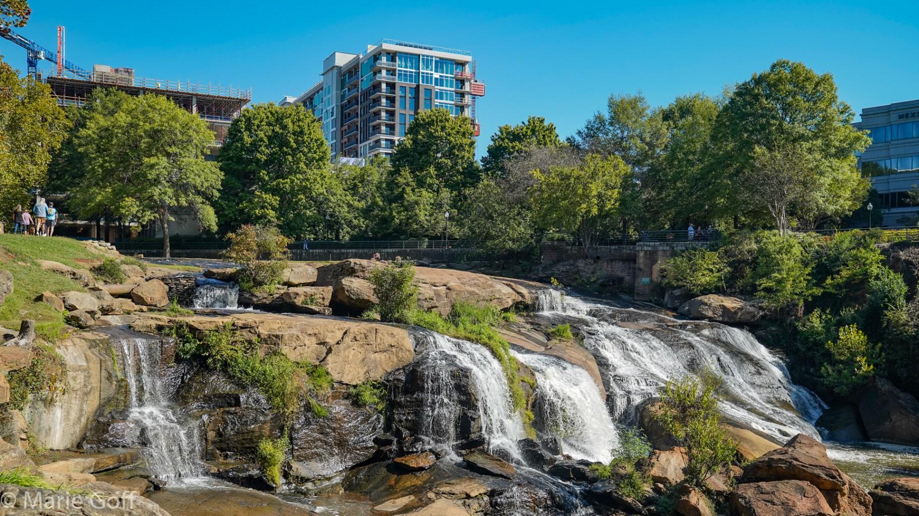 Falls Park Reedy River