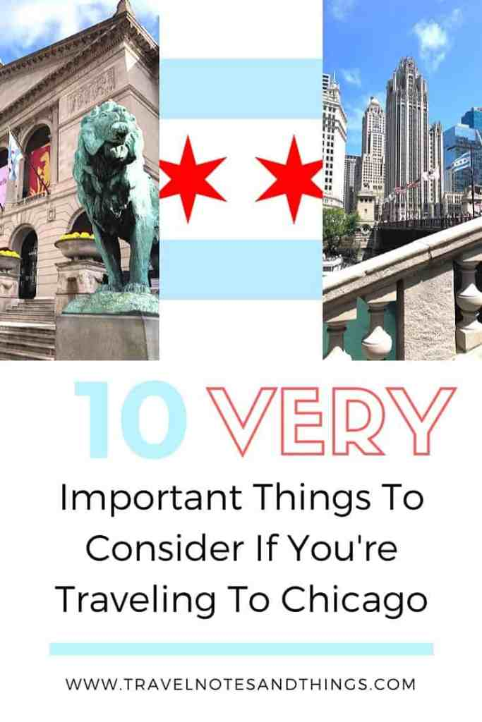 So, as a local I have learned my fair share of do's and don'ts and what to expect when you visit Chicago. So below, I've gathered up some of my top 10 VERY useful things to consider if you're traveling to Chicago! Enjoy!