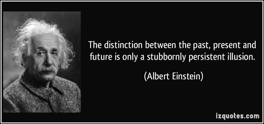 albert einstein quote about time