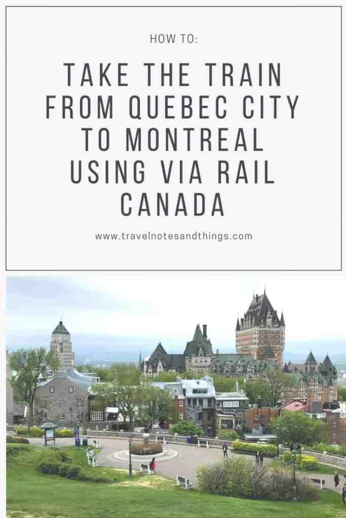 Are you planning a trip to French Canada soon? Have you considered possibly traveling by train from Québec City to Montréal? Click here to learn how I took the train between these two cities using Via Rail Canada, as well as any relevant tips that can ease your travels between these two beautiful Québec-ian cities.