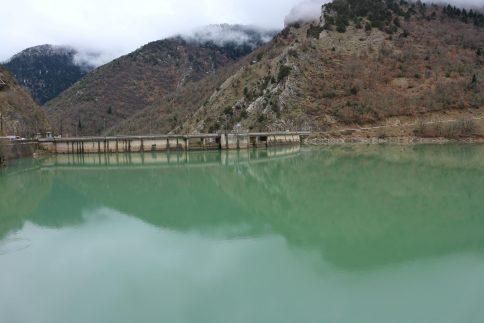 Λίμνη Πλαστήρα - Φράγμα