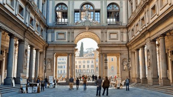 uffizi florentia