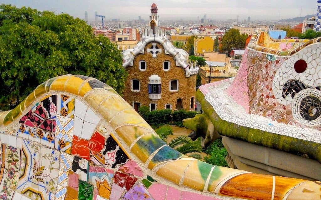 mosaics of Park Guell