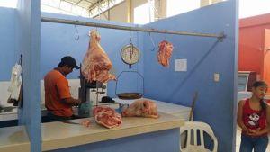 Meat Market Puerto Lopez Ecuador