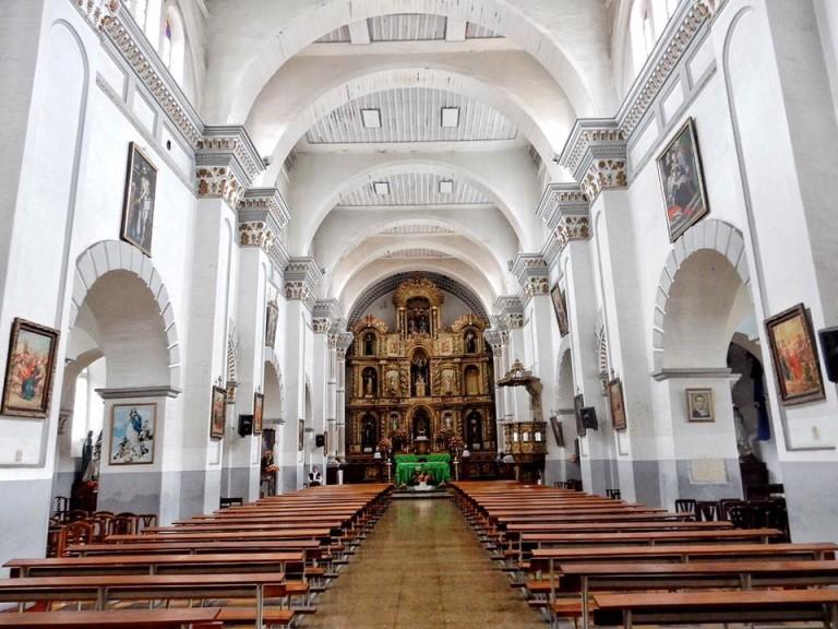 White Church Cuenca Ecuador