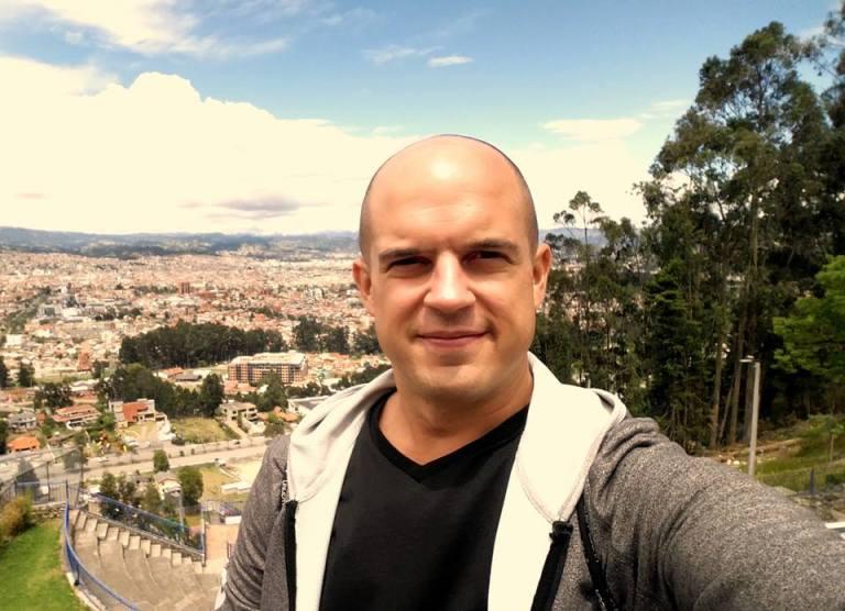 Trevor Kucheran view of city Cuenca vista