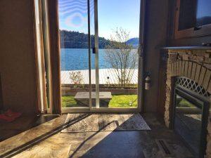 View of Vernon on Lake Okanagan