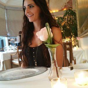 Kashlee at the Grill Room Windsor Court