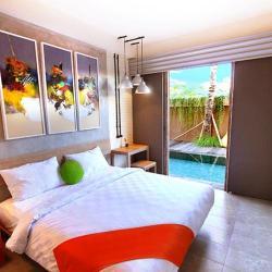 Frii Pool access room hotel in canggu