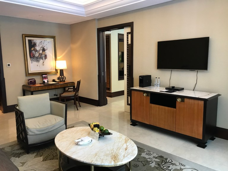 Celebrity suite living room bali