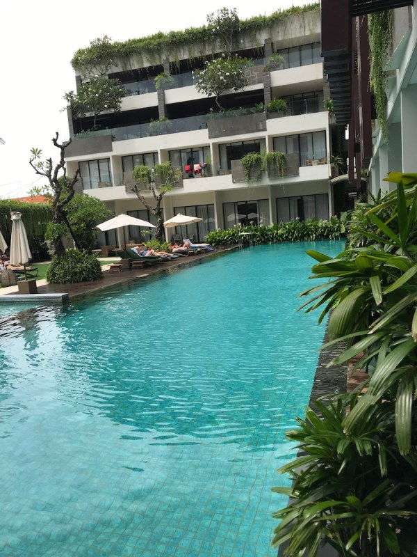 Four points seminyak pool access rooms