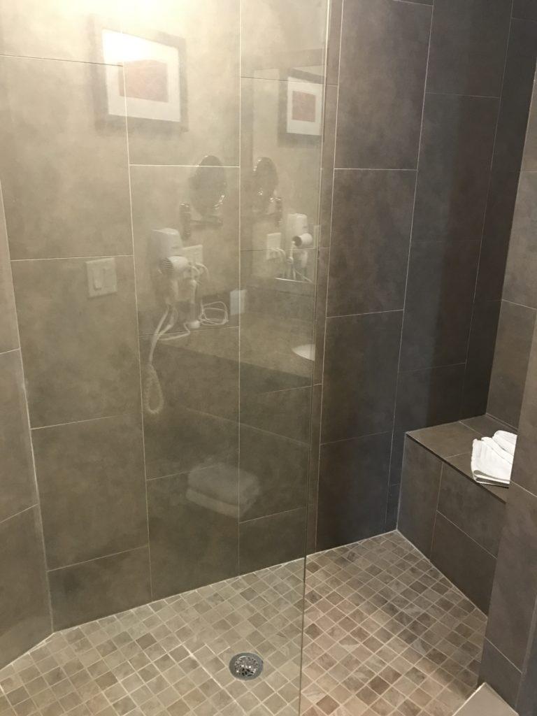 Walk In Shower Kelowna Honeymoon Suite