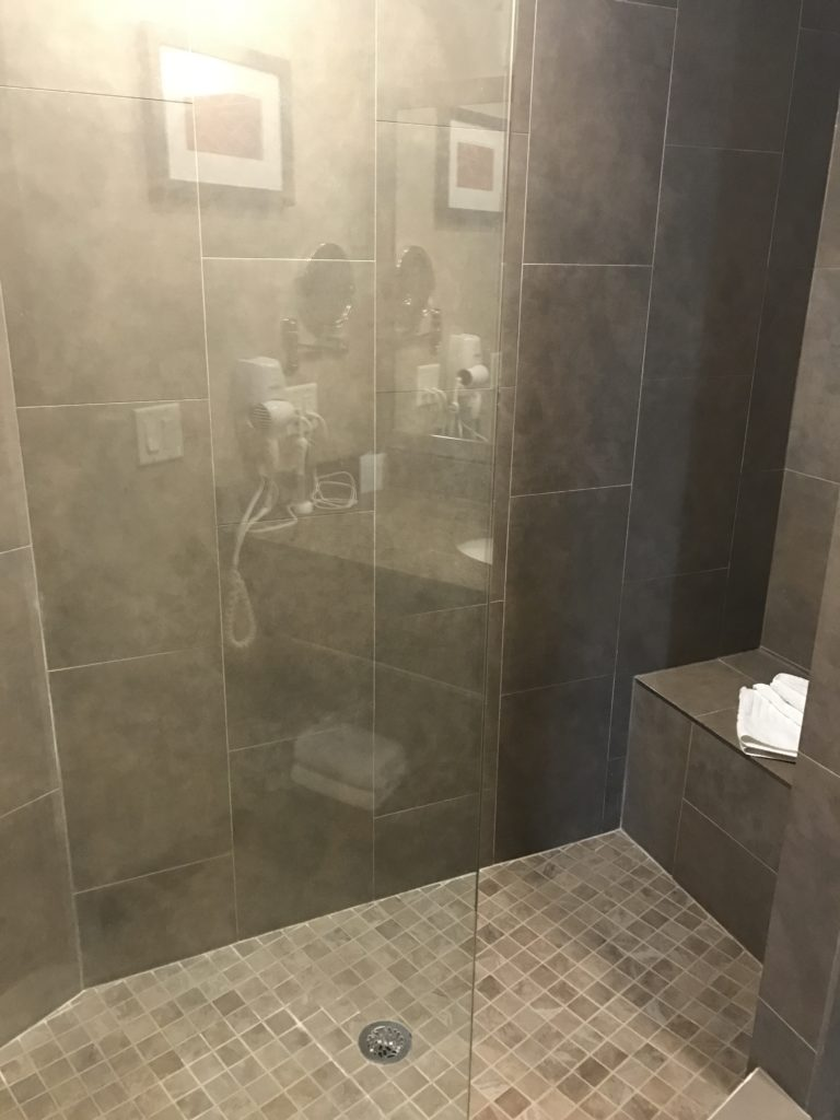 Walk In Shower Kelowna Honeymoon Suite