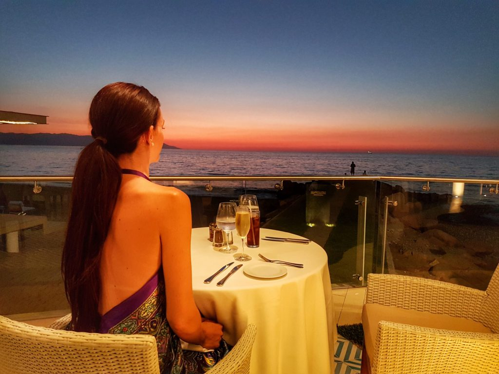 Sunset Dinner in Puerto Vallarta at Villa Premiere