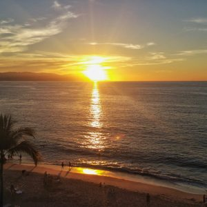 Sunset in PV Mexico