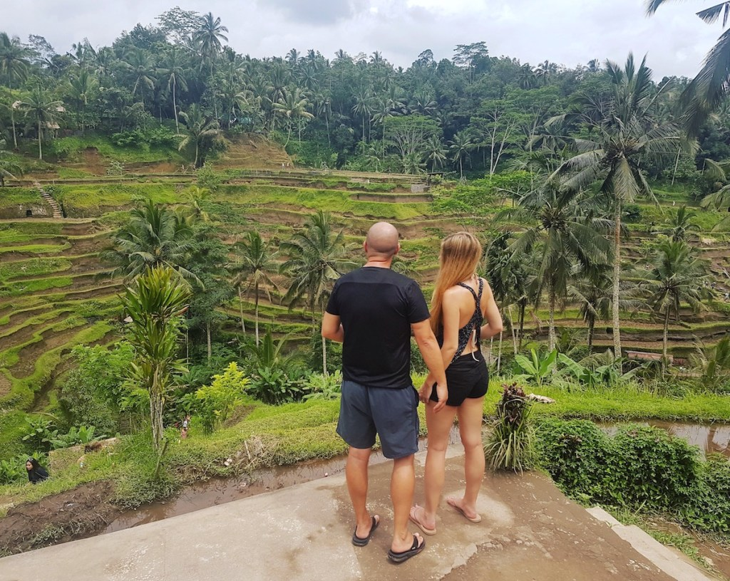 Tegalalang rice terraces Ubud Bali - Trevor and Kashlee Kucheran
