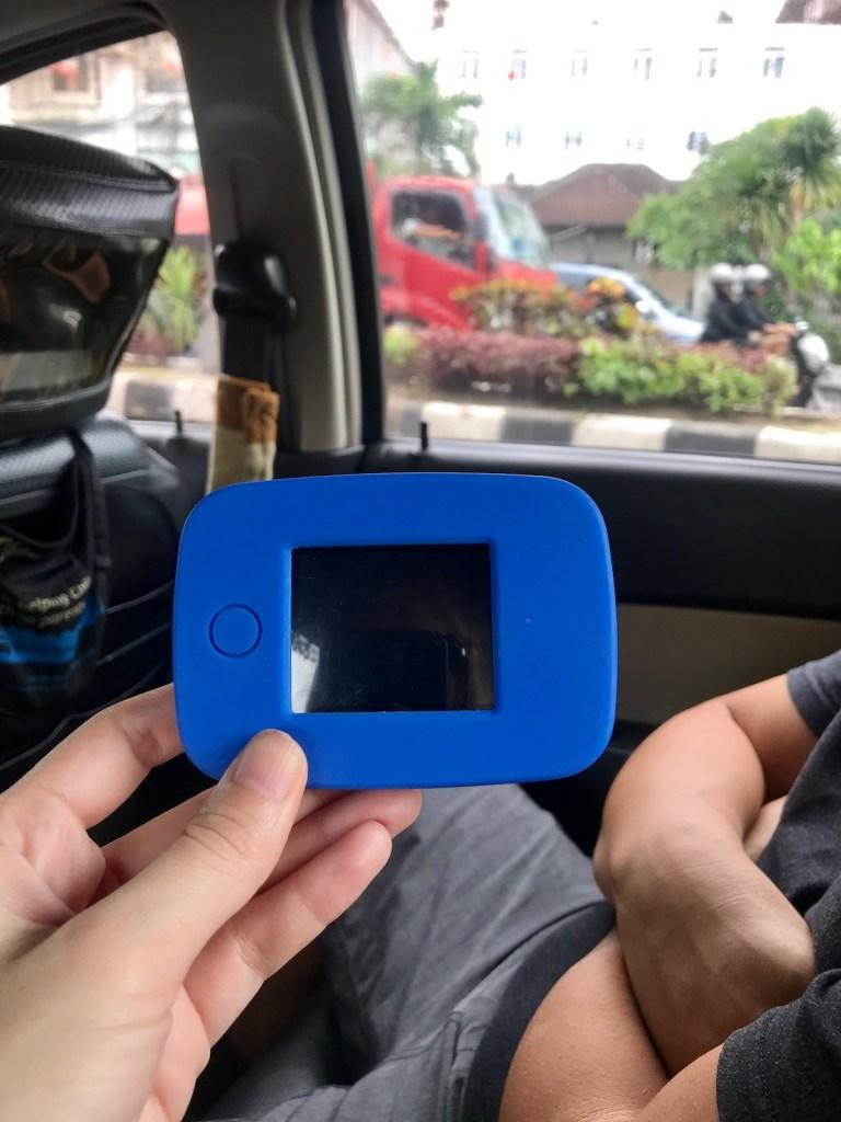 Tep Wireless Wi-Fi internet in Bali
