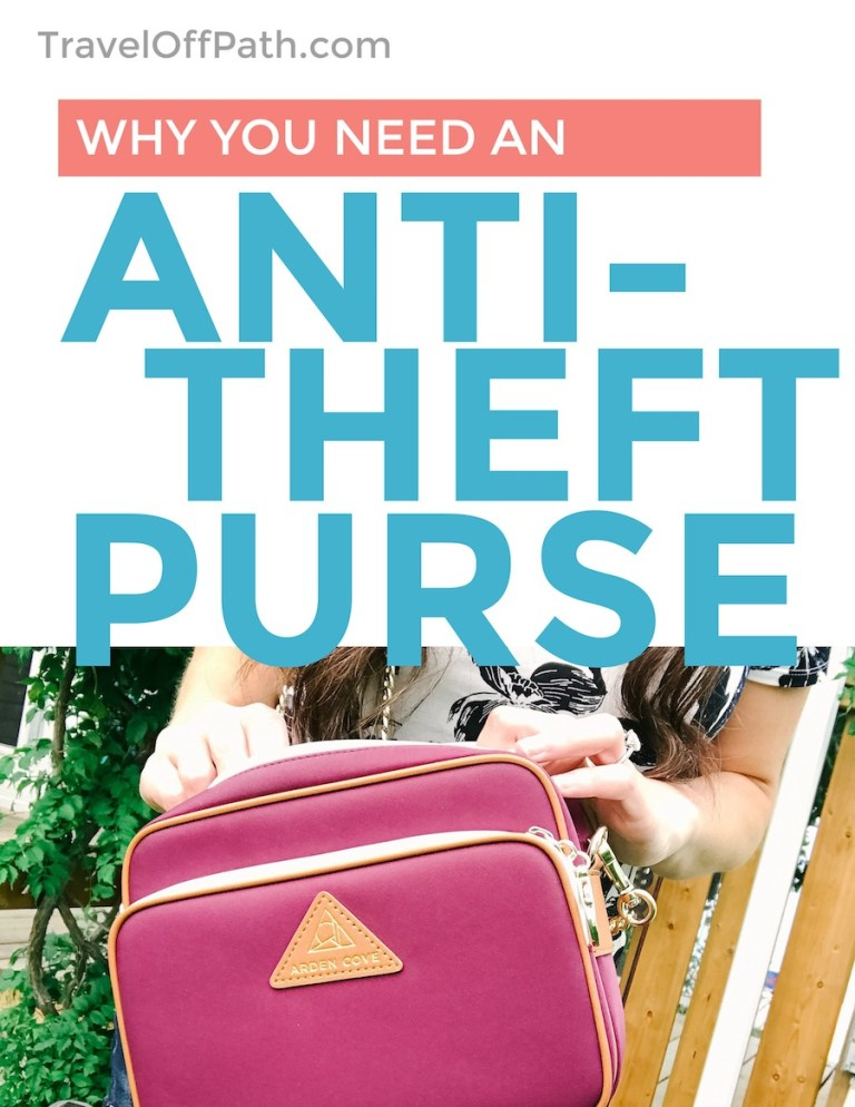 Why Arden Cove makes the BEST Anti-Theft purse