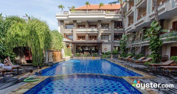 Pool access room at the Vira Hotel in Kuta Bali