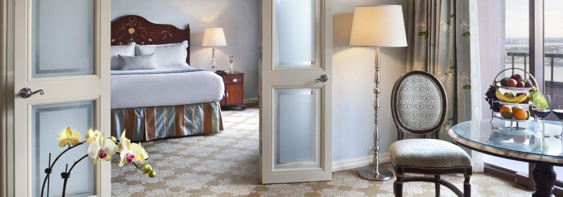 Romantic Suite in New Orleans – The Charming Windsor Court Hotel