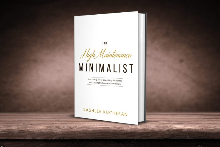 High Maintenance Minimalist Book
