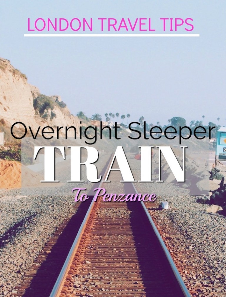 Overnight Sleeper Train to Penzance from London