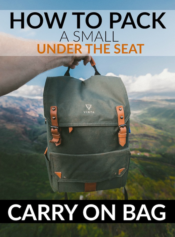 under the seat carry on luggage