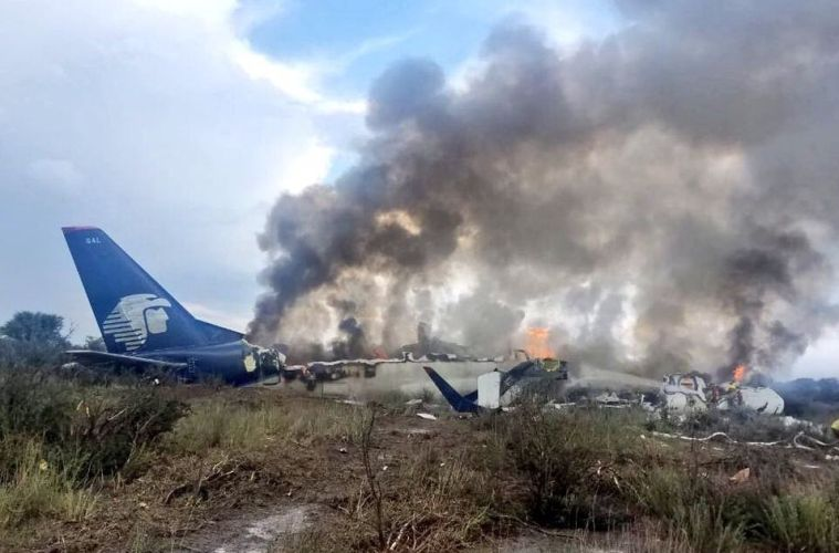 Aero Mexico Plane Crash