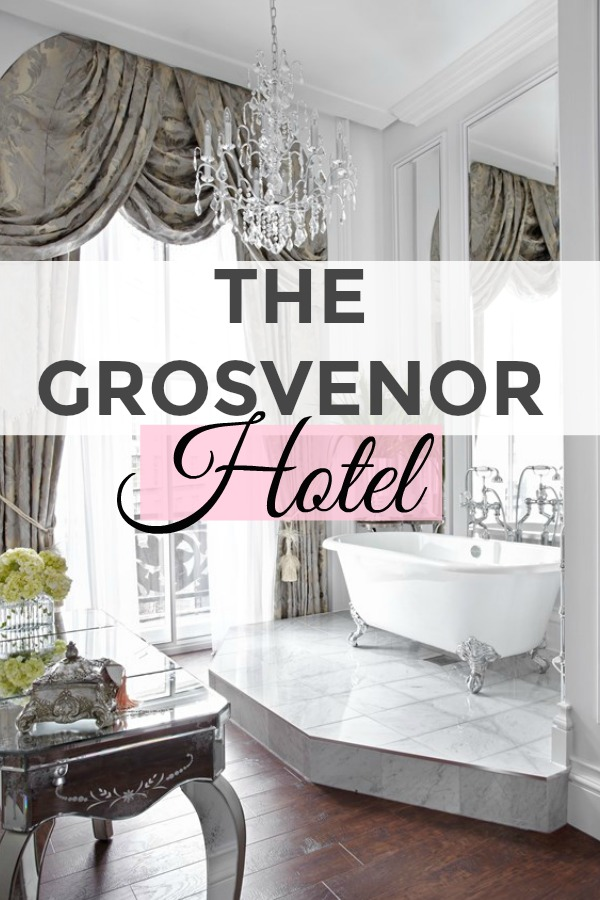Luxury hotel grosvenor london