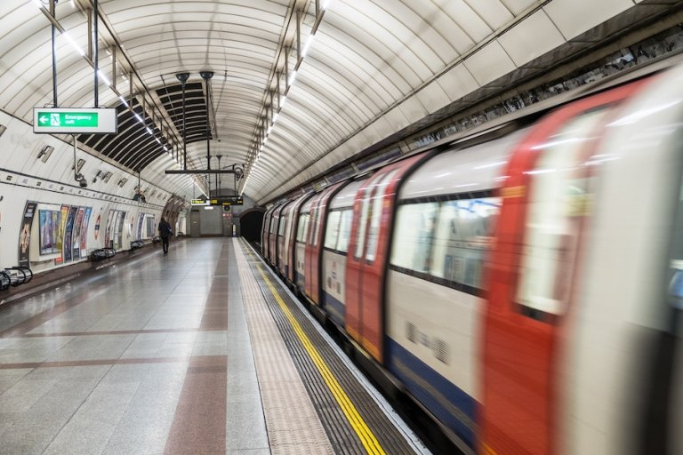 Is there cell service on the tube in london