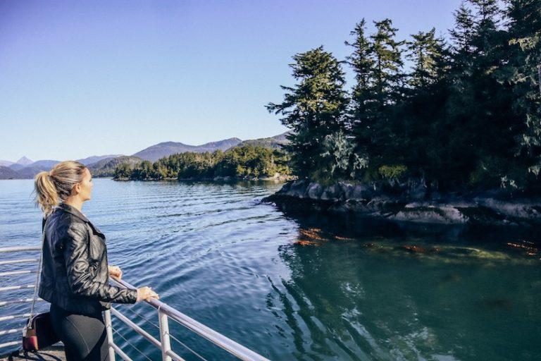 Kashlee Kucheran on the Sitka Excursion Alaska