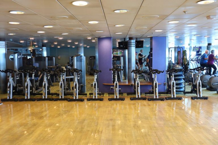 gym on celebrity millennium ship