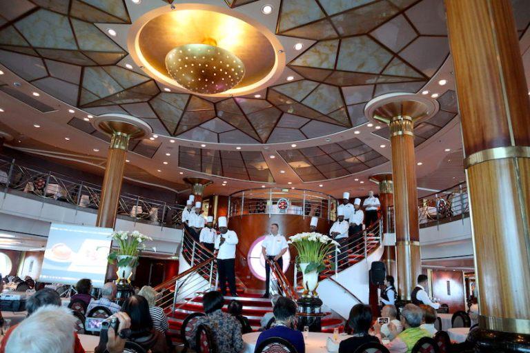 The metropolitan restaurant celebrity cruises