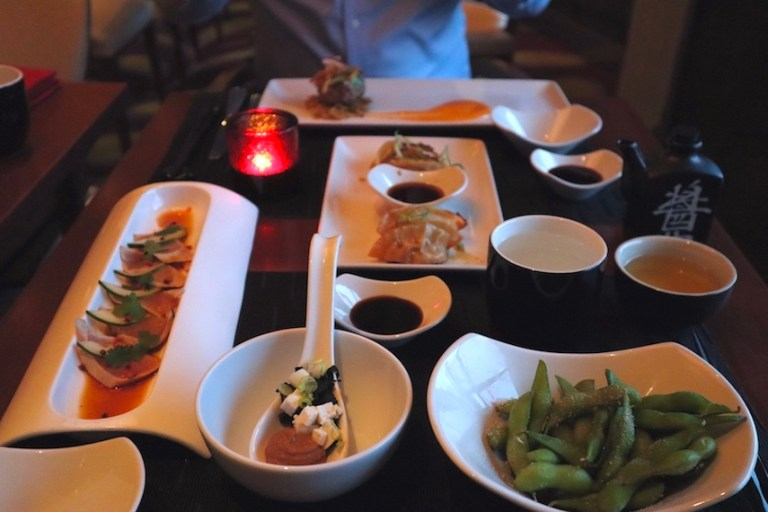 Sushi on Five Celebrity Cruises