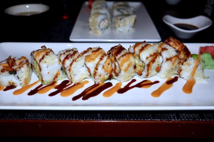 Sushi on celebrity cruise