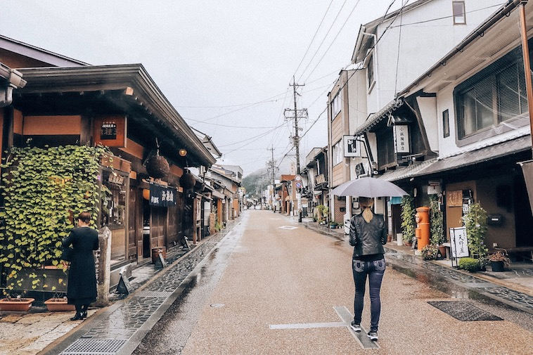 the quiet streets of gujo japan