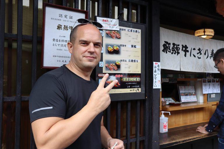 Hida Beef restaurant in takayama