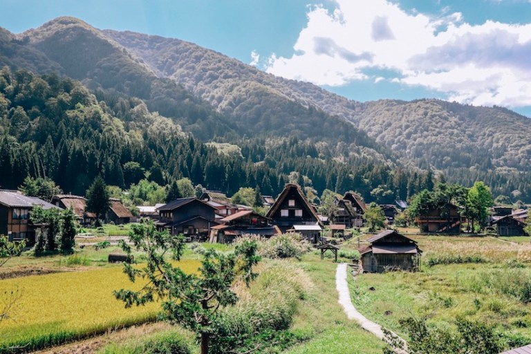 best of central japan- shirakawa go