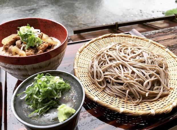 Soba noodles in gifu japan