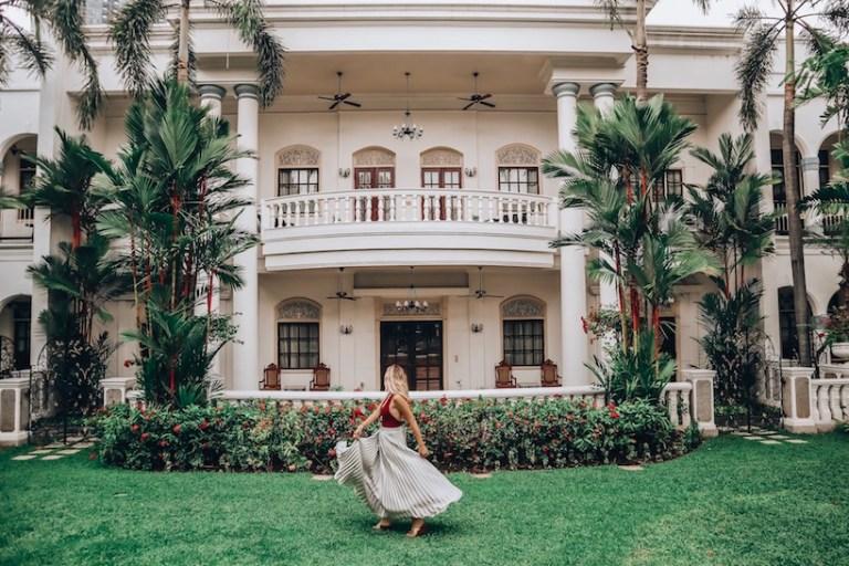 Huge Presidential Suite at The Majapahit Hotel in Surabaya Java - Kashlee Kucheran